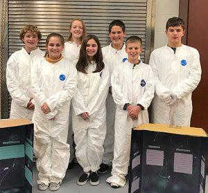 Port Clinton Middle School Tech Team competes