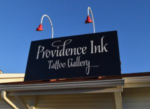 Providence Ink Tattoo Gallery Sign