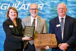 Catawba Moorings, Paul Ochs honored by Regulator