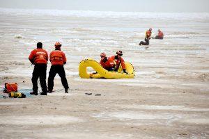 U.S. Coast Guard Ice Rescue