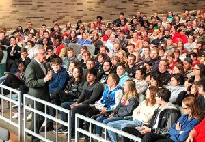 Jim Tressel at Port Clinton High School
