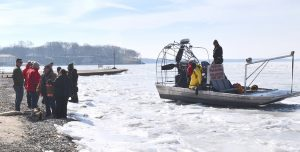 Put-in-Bay Air Boat Helps Rescue Ice Anglers