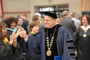 Terra State President Dr. Ronald M. Schumacher Jr.