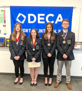 DECA honors for PCHS