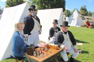 Perry's Momument Re-Enactors