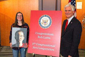 Woodmore's Jordyn Gears wins Congressional Art Competition