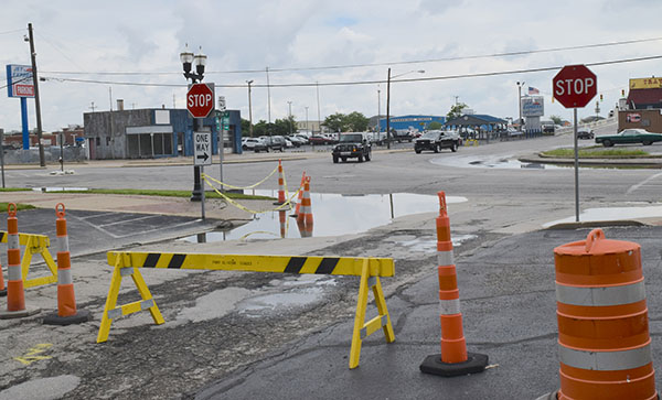 High water is digging an expensive hole in Port Clinton infrastructure