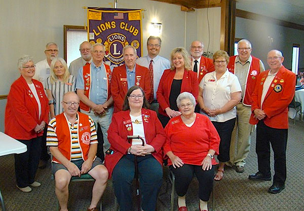 Port Clinton Lions Club officers for 2019