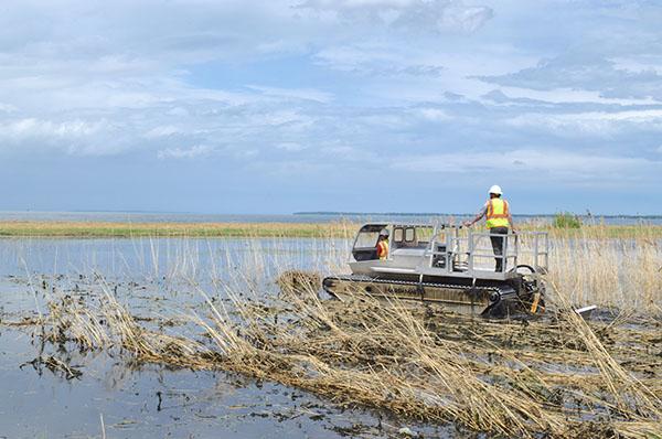 Finally! Port Clinton Lakeshore Preserve project begins