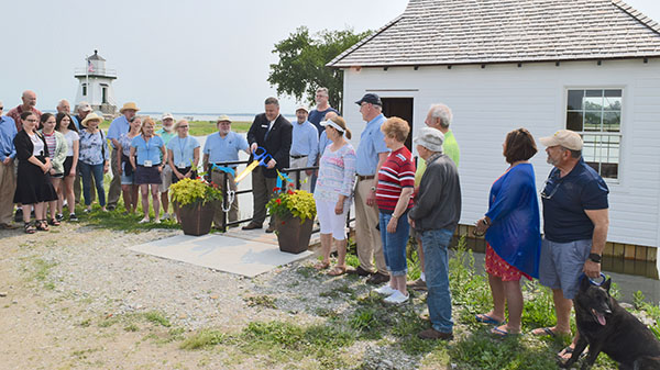 Port Clinton Lighthouse and Keeper's House complete again