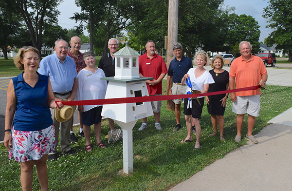 Little Free Library in Port Clinton feeds the need for kids to read