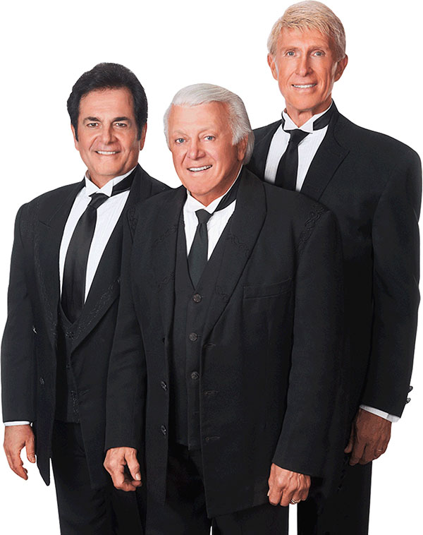 CBS's Hartman and The Lettermen entertain at Lakeside