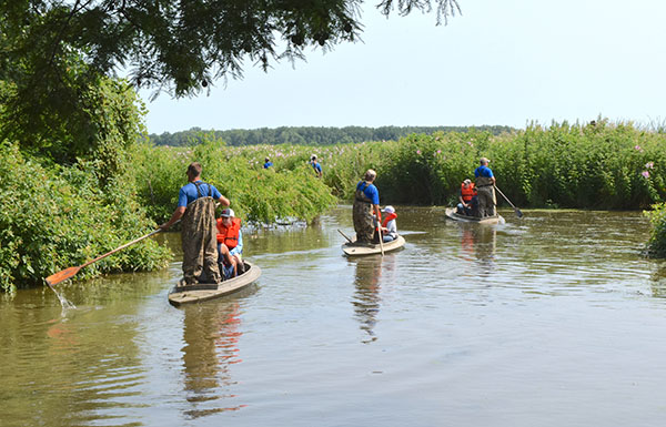 Young adventurers get wild at wonderful Winous Point wetlands
