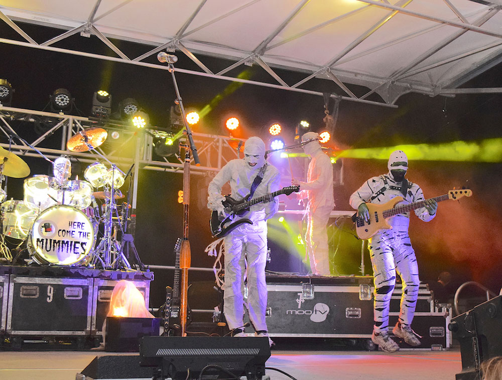 Here Come the Mummies to kick off Rock the Light