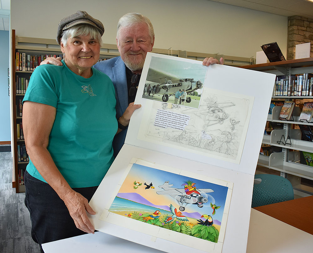 Noted illustrators Jodie, Grant McCallum featured at Writer's Life Q & A at Marblehead Library