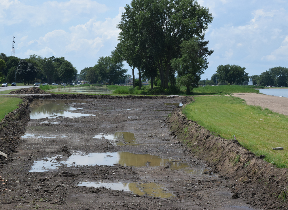 Wetlands restoration project underway