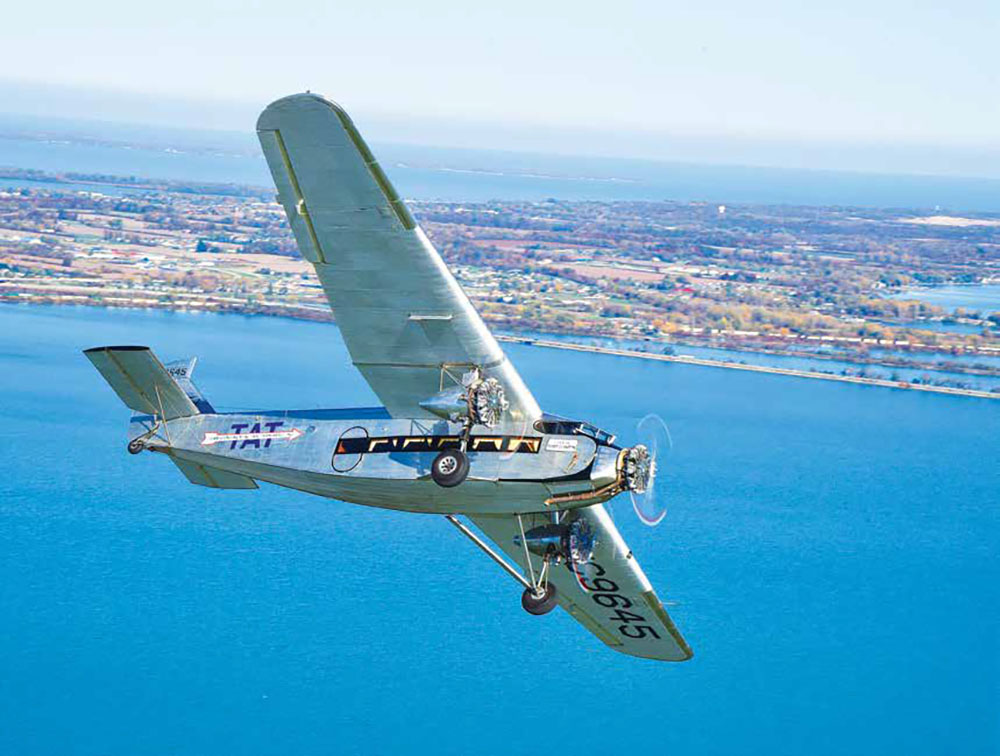 'Tin Goose' offering final rides of the season at Liberty Aviation Museum