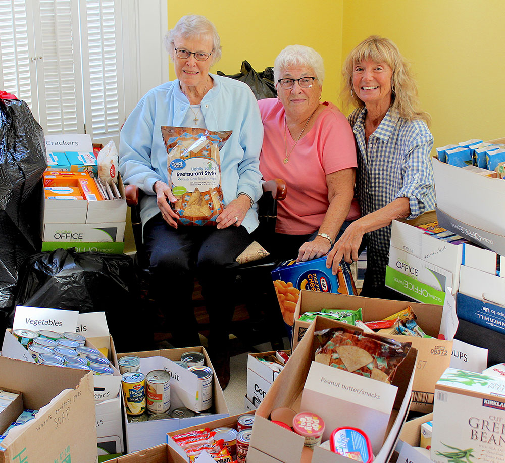 'Simple Gestures' contributes 1,393 items to St. Vincent DePaul Pantry in Port Clinton