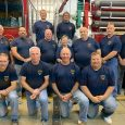 Catawba Fire Department volunteers pose for a picture