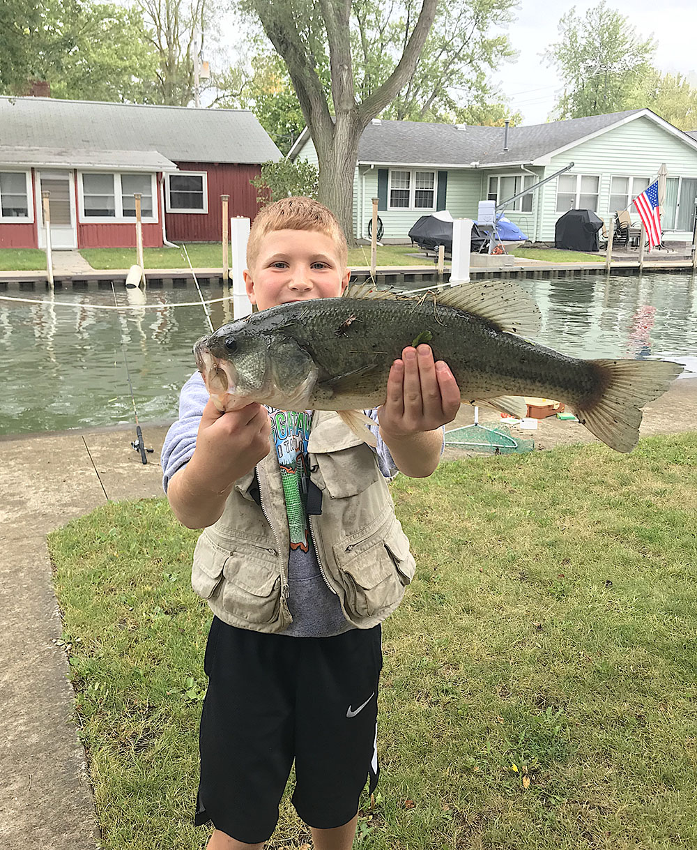 Yellow perch bite has Lake Erie anglers smiling right now