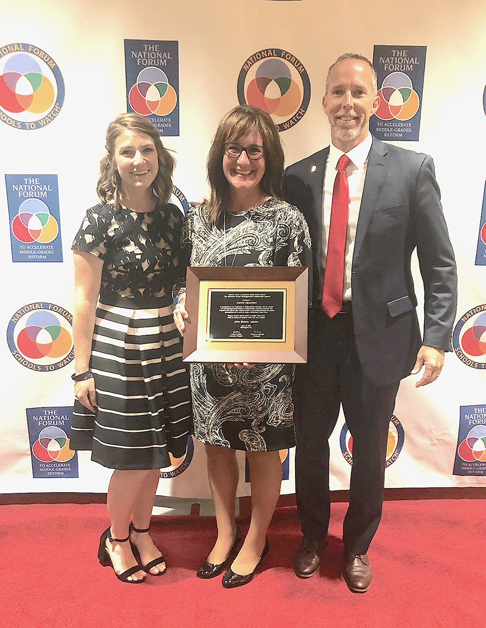 Principal Carrie Sanchez honored in Washington DC with Leadership Award