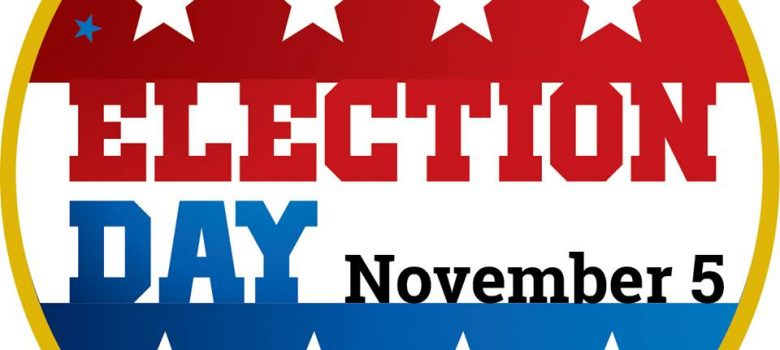 Election Day, November 5, 2019