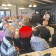 Ottawa County Historical Society members at board meeting