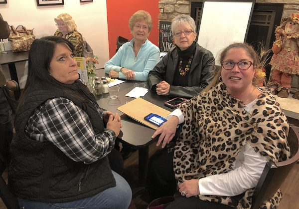 Port Clinton council members watch election results at Bistro 163