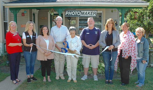 Ribbon cutting for PhotoMaker