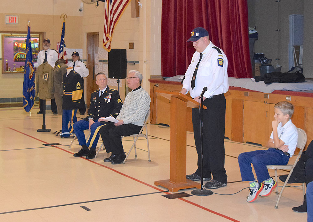 Immaculate Conception students honor military veterans at special assembly