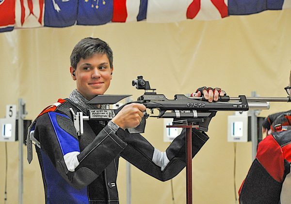 Image of athlete at and Camp Perry Air Gun event