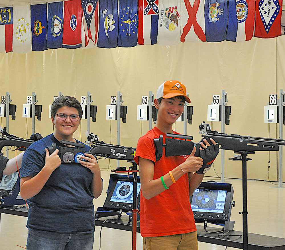 CMP's Air Gun League Matches final results are listed