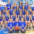 Image of Danbury girls vasitry basketball team