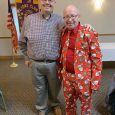 Image of Jim Recker and Ed Heinsen at Port Clinton Lions Club