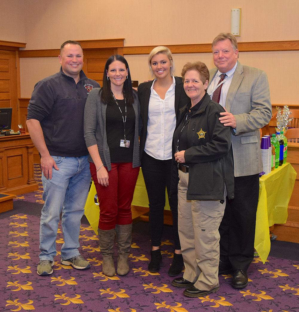Court program, support staff help grad find better life