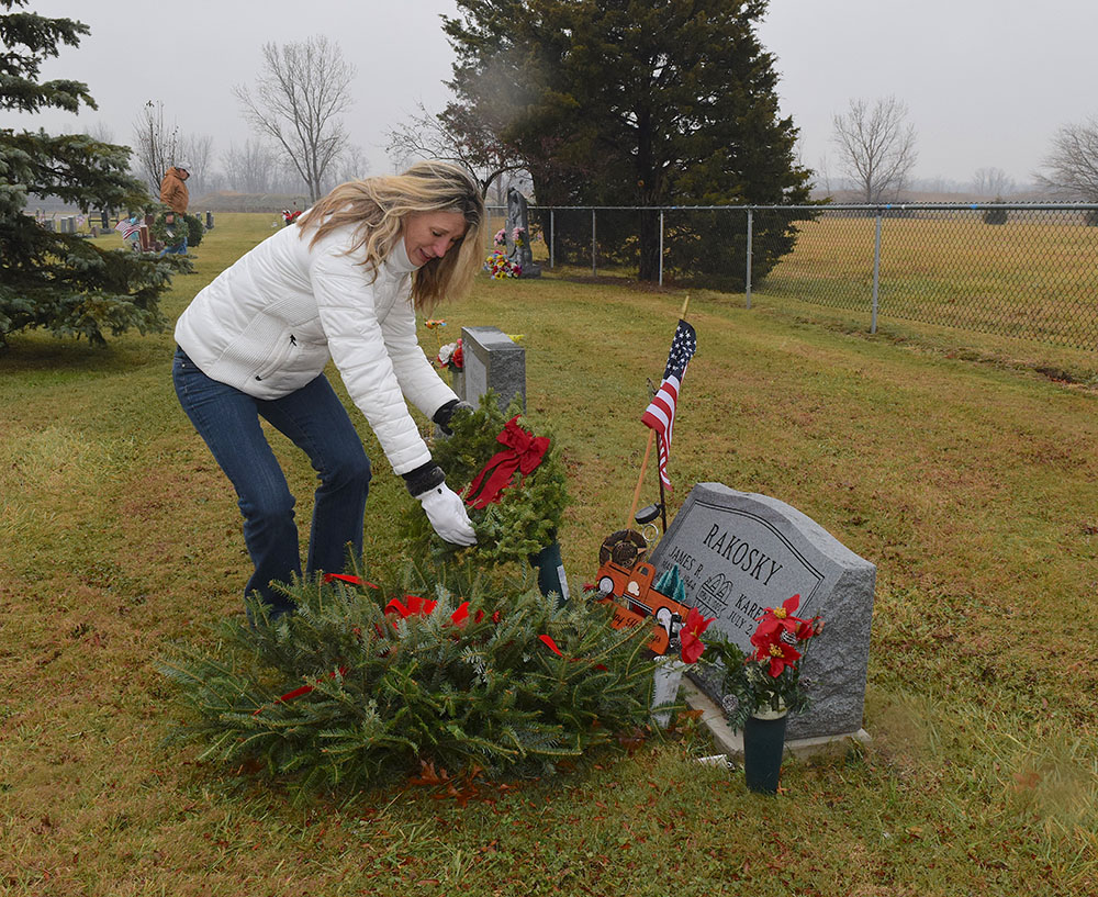 Veterans remembered at area cemeteries