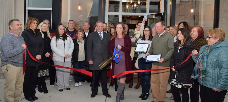 Polter Real Estate grand opening ribbon cutting