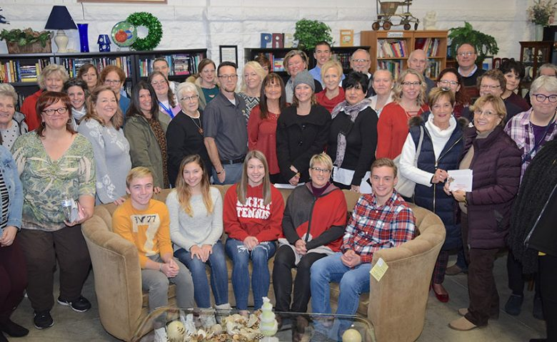 Portage Resale Center on Giving Tuesday