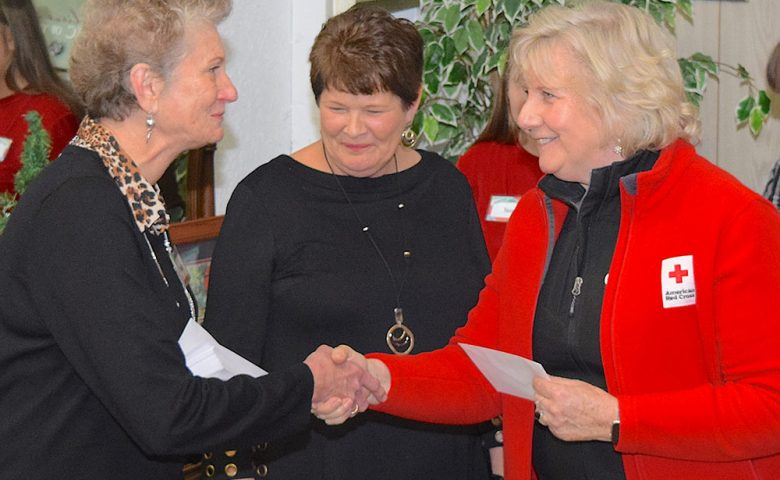 American Red Cross accepts grant from Portage Resale Center for Giving Tuesday