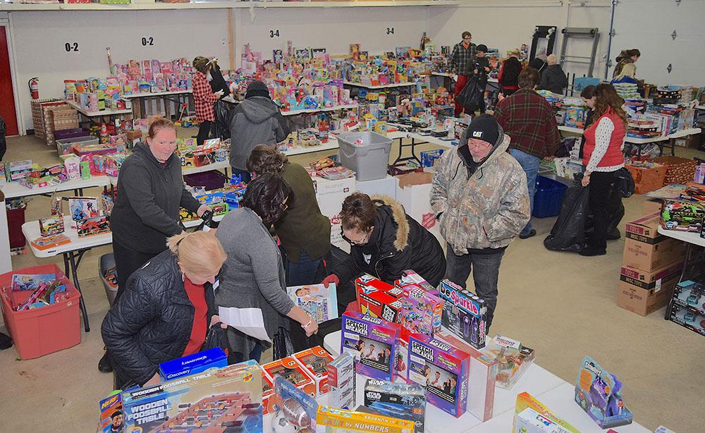 Salvation Army, legion of volunteers bring wonderful Christmas to local kids