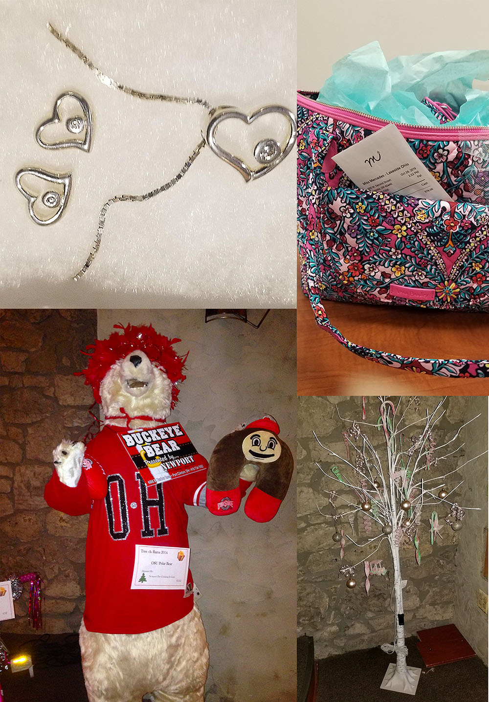 Tree A Rama Charity Auction sparkles with unique Christmas gifts, décor