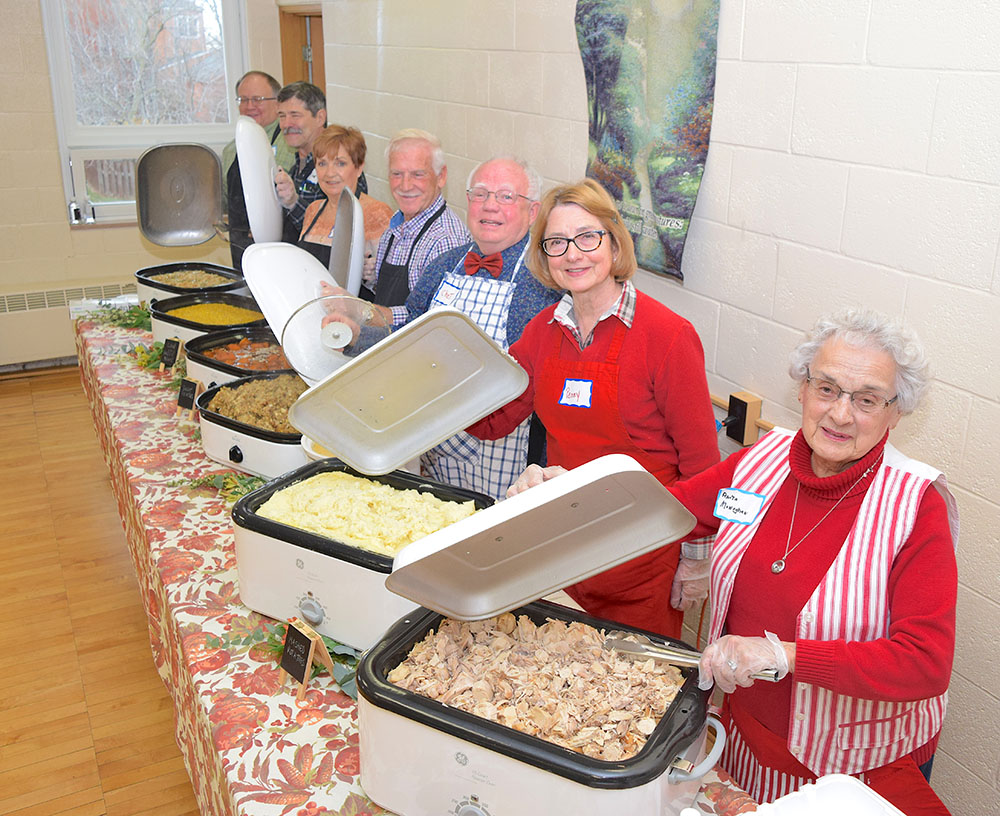 Camaraderie, great cooking mark A United Thanksgiving at Trinity