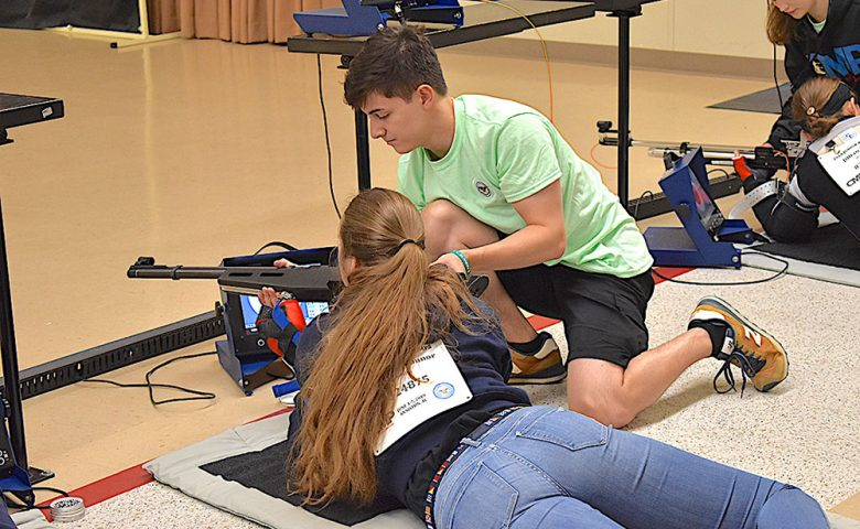 Image of CMP Summer Athletes at Camp Perry