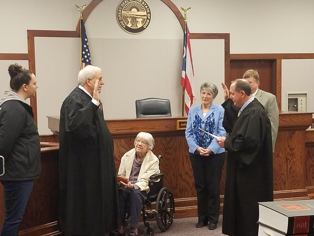 Magistrate Lou Wargo off and running as Municipal Court Judge