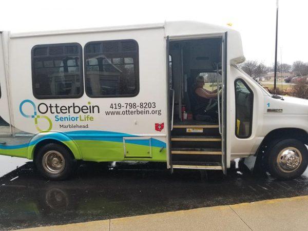 Image of Ronald McCauley on Otterbein buss