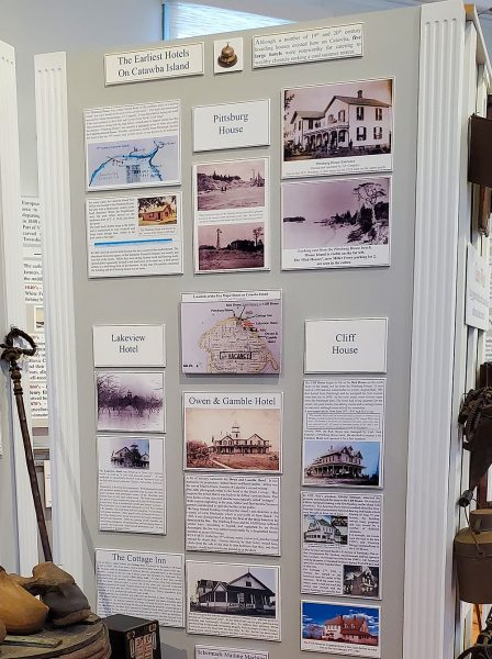 Era of Catawbas Grand Hotels display