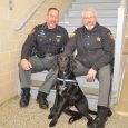 Image of Finn the dog, and Steve Levorchick, and Chad Millner