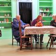Image of scene from a play called Old Ringers