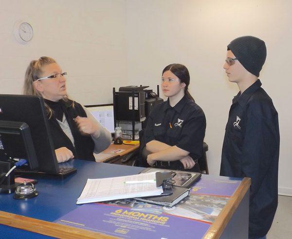 Image of Terry VanHoose providing vocational training