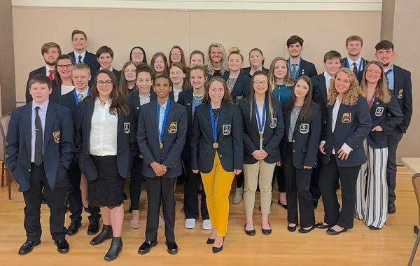 Image of Port Clinton DECA members
